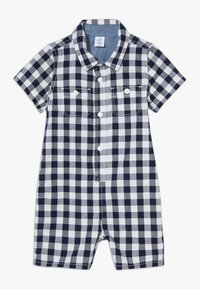 GAP - GINGHAM  - Overal - navy uniform - 0