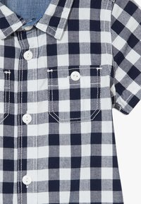 GAP - GINGHAM  - Overal - navy uniform - 3