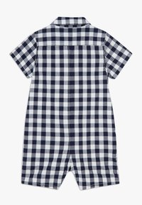 GAP - GINGHAM  - Overal - navy uniform - 1