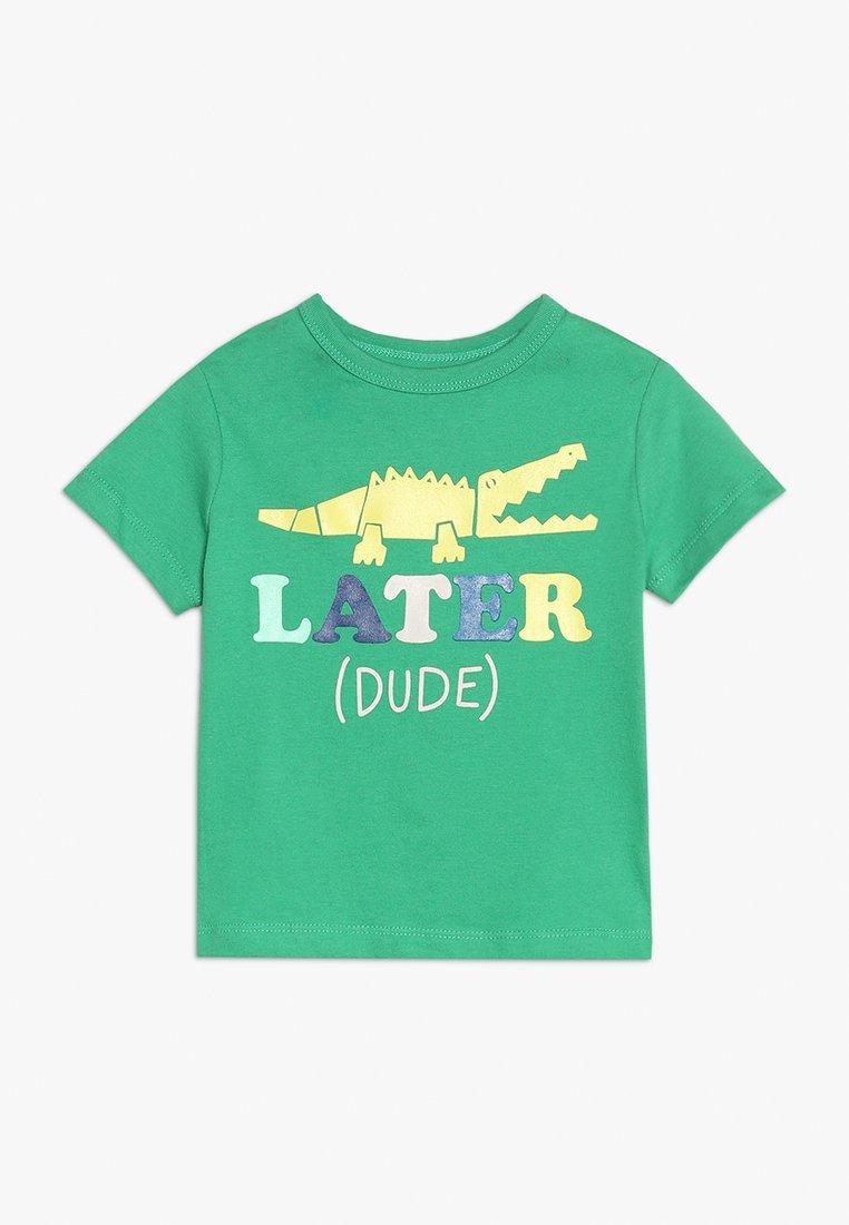 GAP - TODDLER BOY - T-shirt z nadrukiem - parrot green