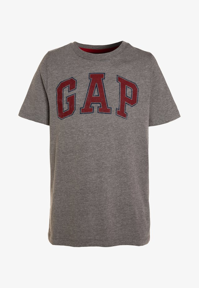 BOYS ARCH SCREEN - T-Shirt print - grey heather