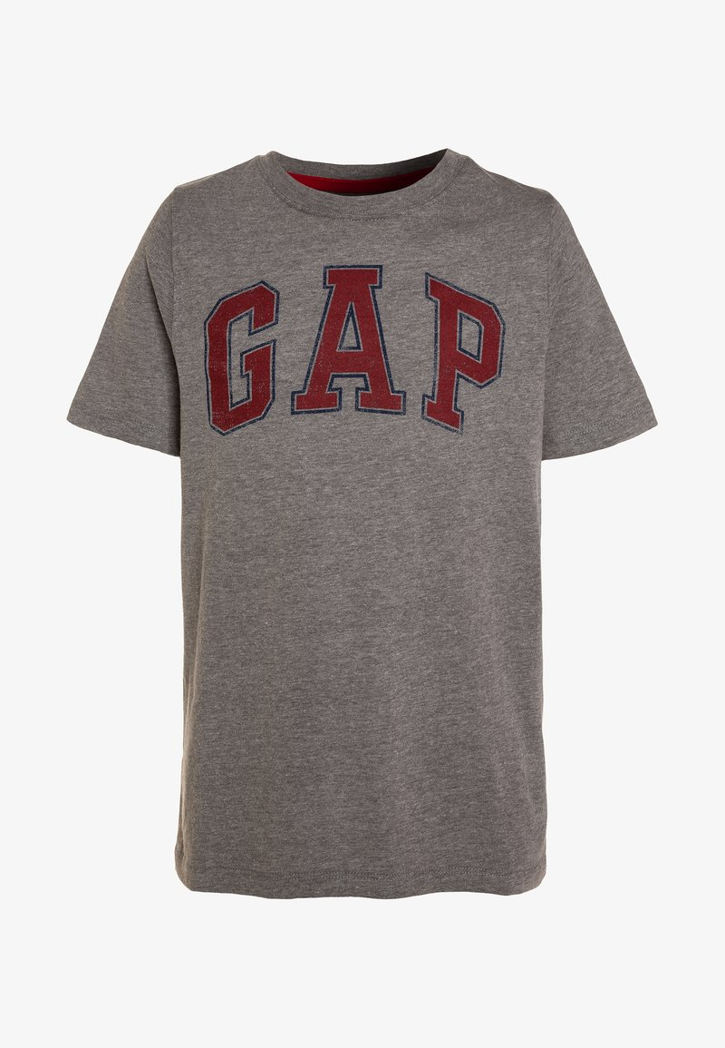 GAP - BOYS ARCH SCREEN - T-Shirt print - grey heather