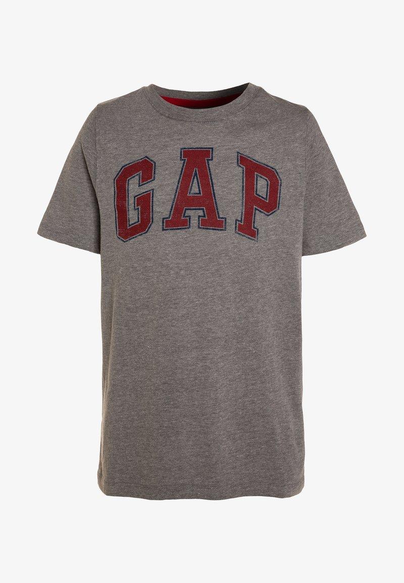 GAP - BOYS ARCH SCREEN - T-shirt med print - grey heather