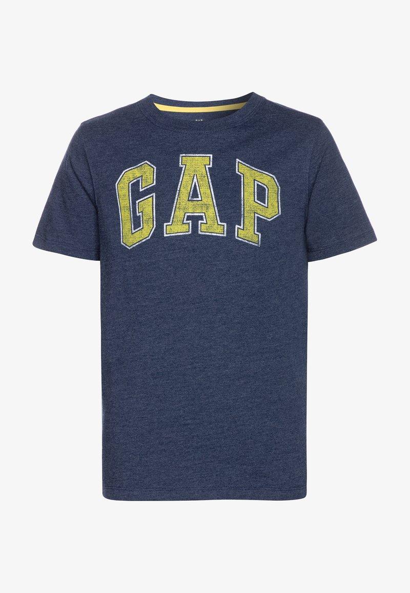 GAP - BOYS ARCH SCREEN - T-shirt imprimé - navy heather