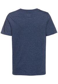 GAP - BOYS ARCH SCREEN - T-shirt imprimé - navy heather - 1