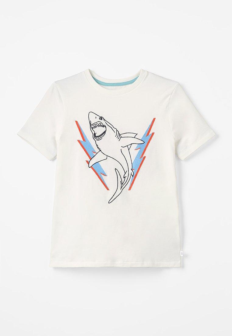 GAP - BOYS GRAPHIC - Print T-shirt - new off white