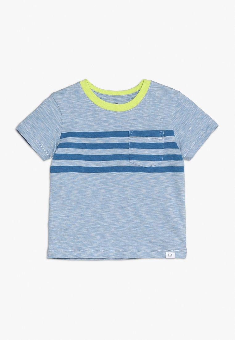 GAP - TODDLER BOY CREW - T-Shirt print - buxton blue
