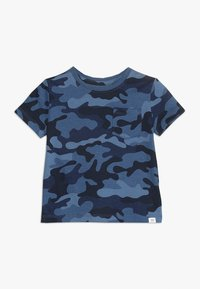 GAP - TODDLER BOY - T-shirt z nadrukiem - blue - 0