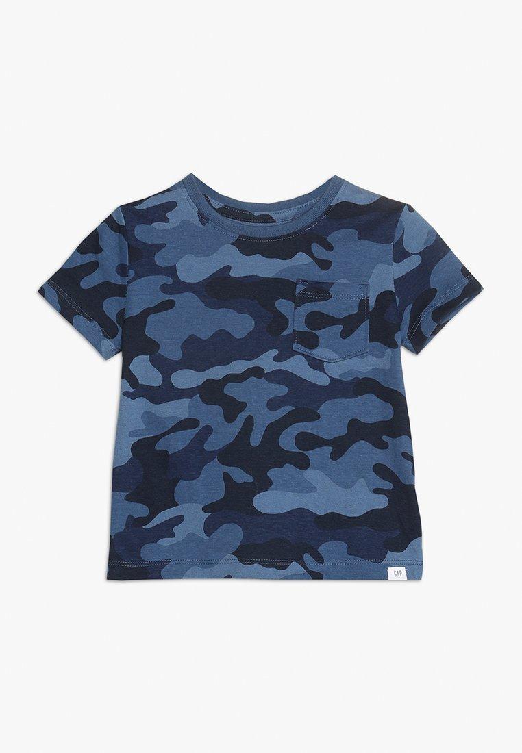 GAP - TODDLER BOY - T-shirt z nadrukiem - blue