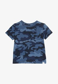 GAP - TODDLER BOY - T-shirt z nadrukiem - blue - 3