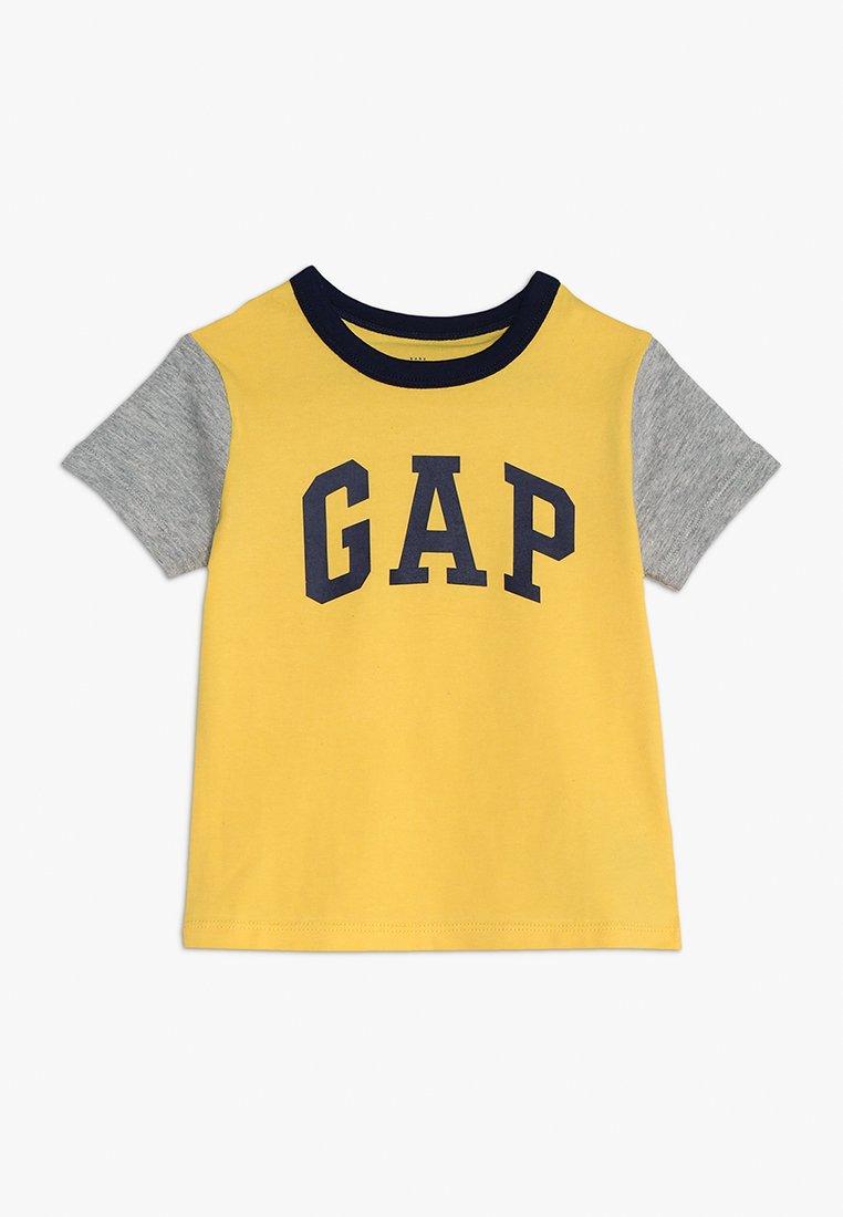 GAP - TODDLER BOY LOGO  - T-Shirt print - canary yellow