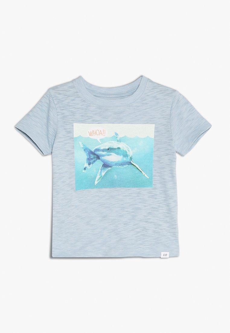 GAP - TODDLER BOY BETTER  - T-shirt con stampa - sail blue