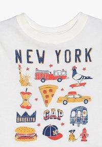 GAP - TODDLER BOY CITY - T-Shirt print - new off white - 3