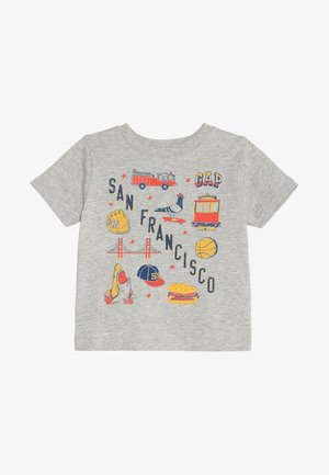 TODDLER BOY CITY - T-shirt print - light heather grey