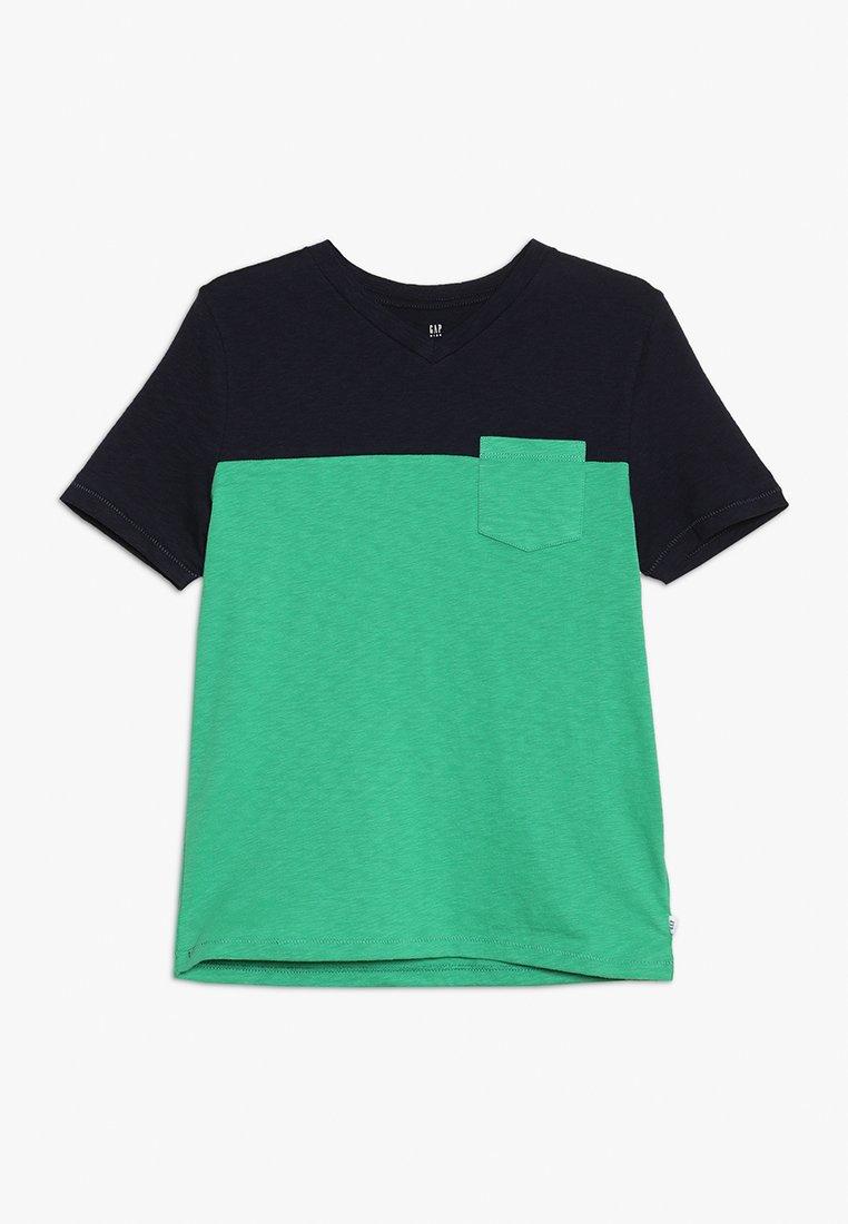 GAP - BOYS  - T-shirts print - marine blue