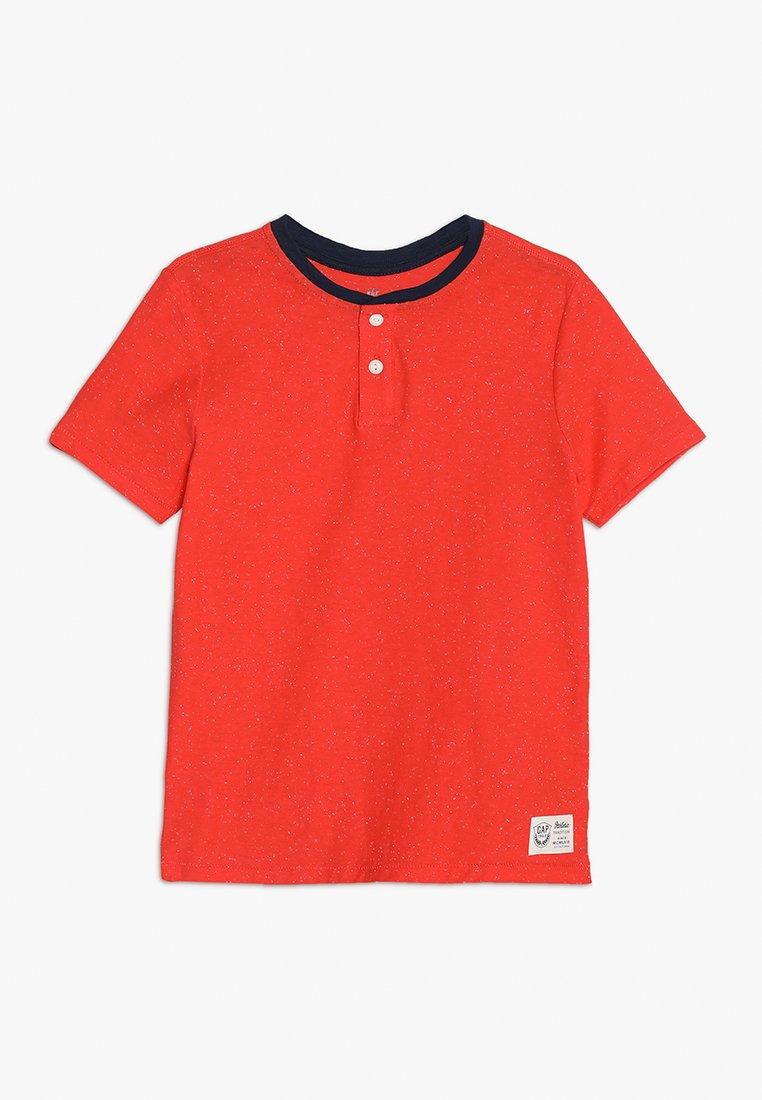 GAP - BOYS HENLEY - Print T-shirt - new coral