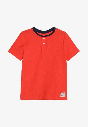 BOYS HENLEY - Print T-shirt - new coral