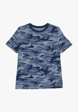 BOYS TEE - T-shirt z nadrukiem - blue