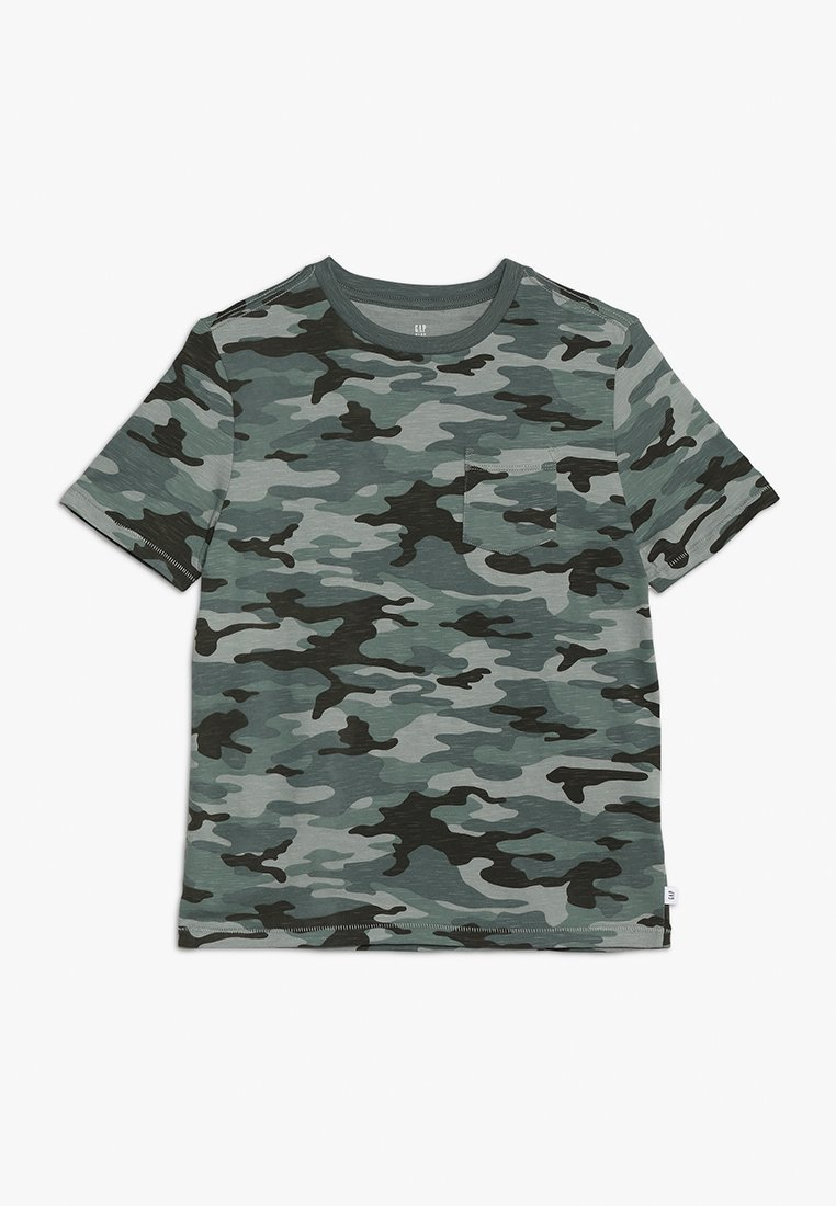 GAP - BOYS TEE - Print T-shirt - green camo