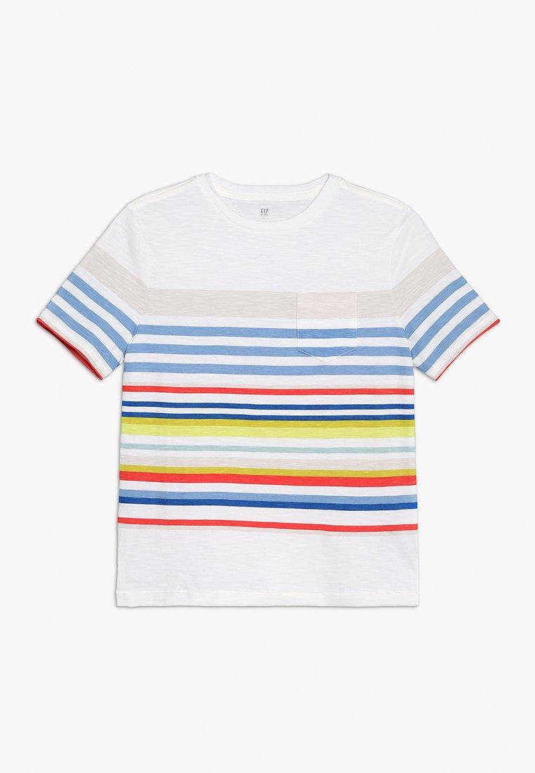 GAP - BOYS TEE - T-shirt z nadrukiem - multi