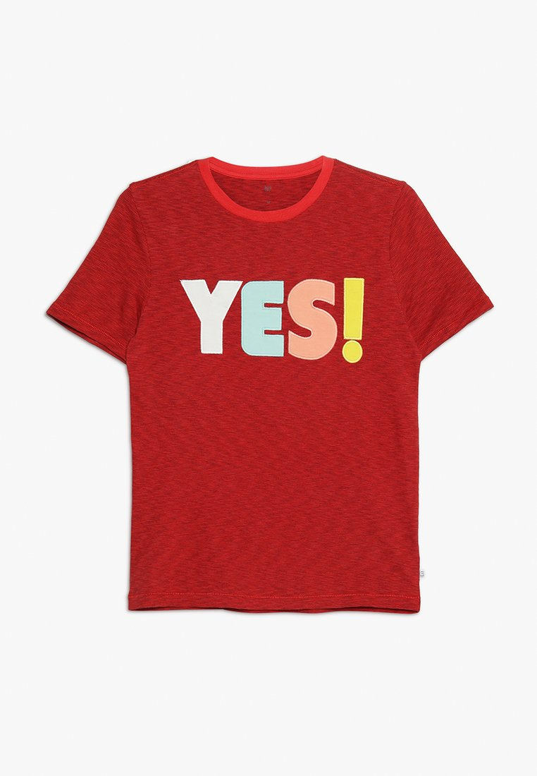 GAP - BOYS TEE - Camiseta estampada - weathered red
