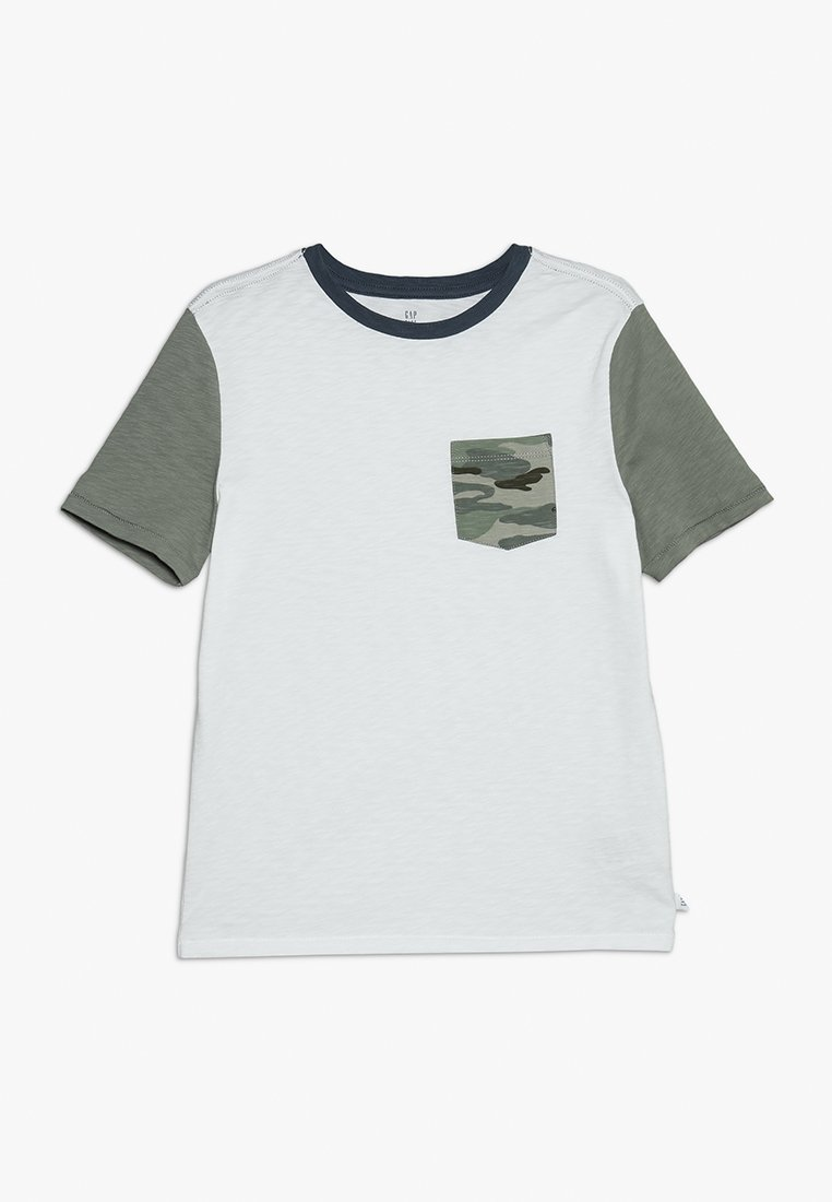 GAP - BOYS  - Print T-shirt - optic white