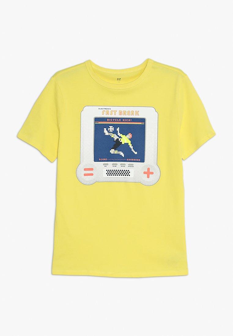 GAP - BOYS - T-Shirt print - aurora yellow