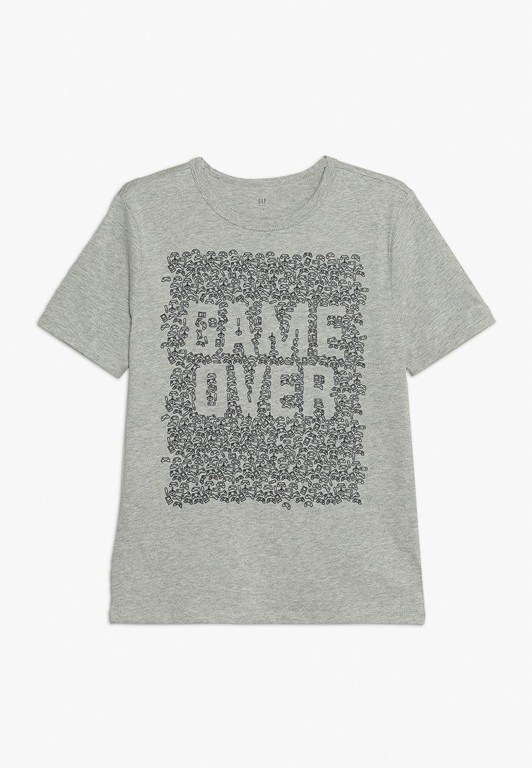 GAP - BOYS  - T-shirt print - light heather grey