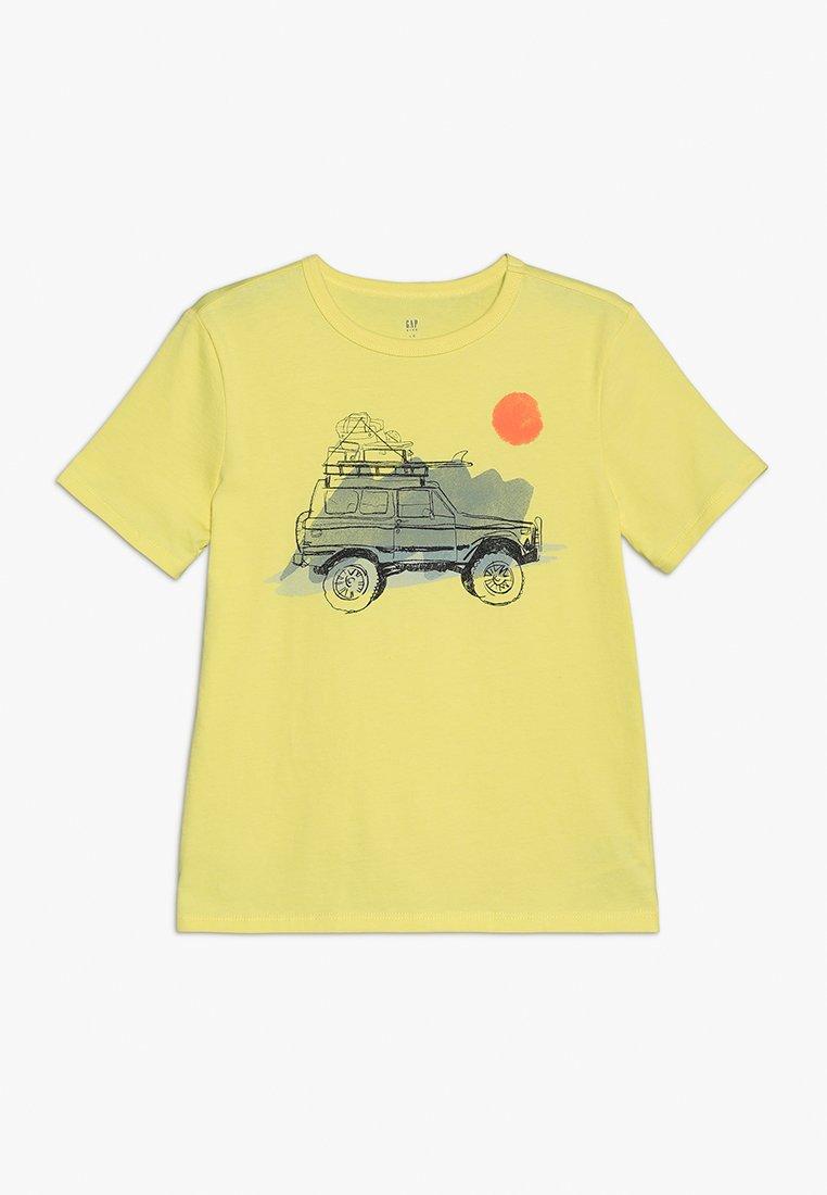 GAP - BOY - T-Shirt print - aurora yellow