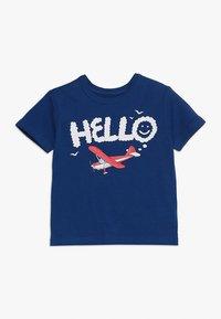 GAP - TODDLER BOY TEE - T-Shirt print - blue edge - 0