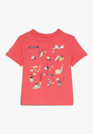 TODDLER BOY TEE - T-shirt z nadrukiem - cayenne