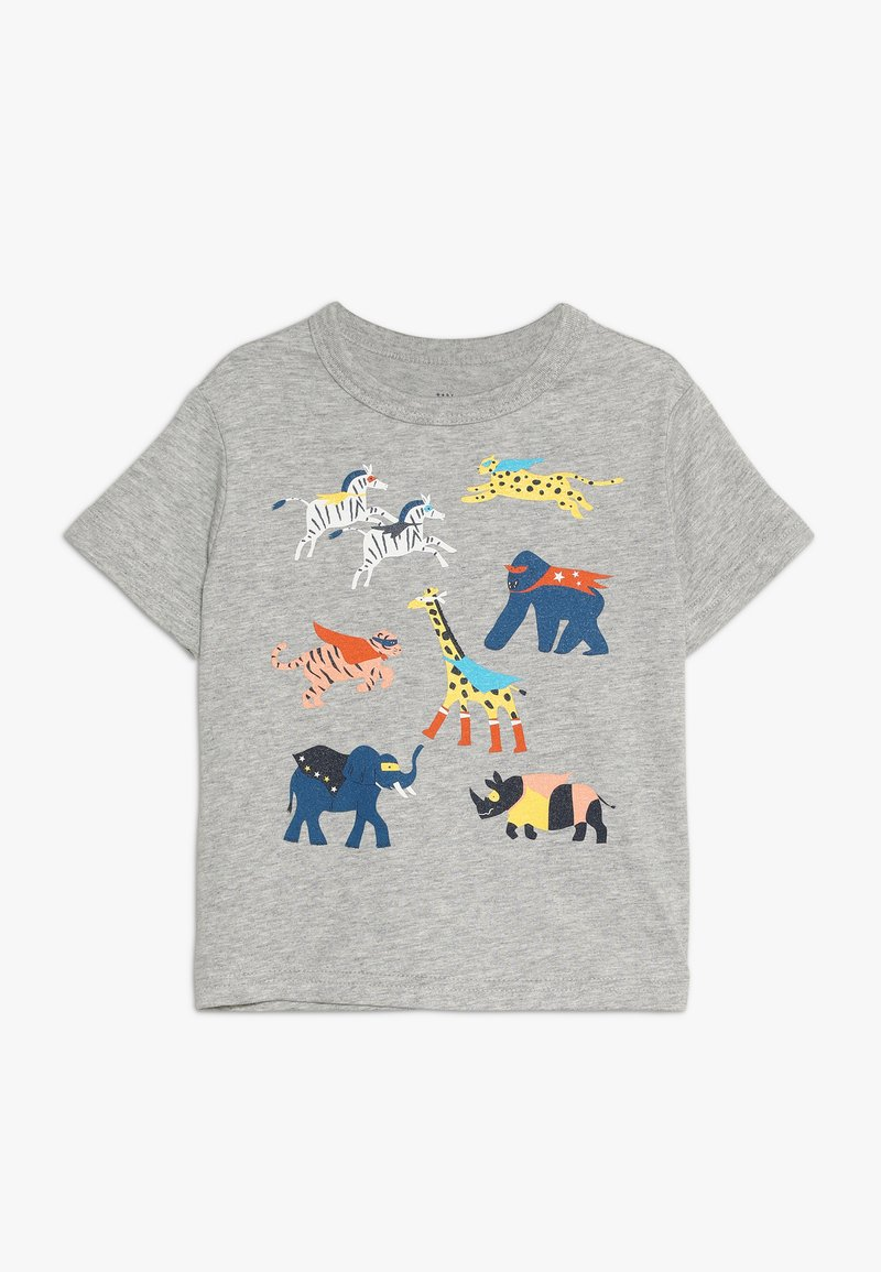 GAP - TODDLER BOY TEE - Print T-shirt - light heather grey