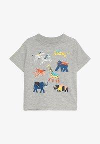 GAP - TODDLER BOY TEE - T-Shirt print - light heather grey - 2