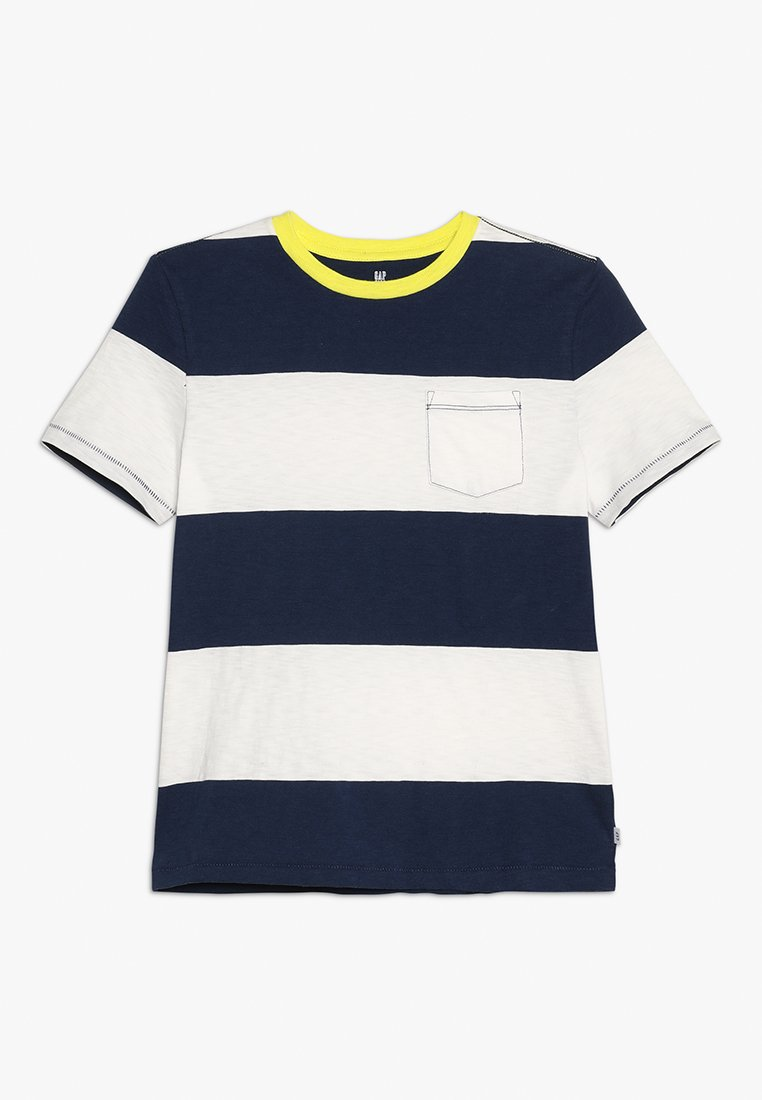 GAP - BOYS RUGBY CREW - T-shirt con stampa - new off white