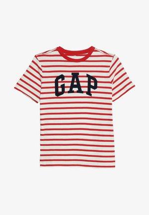 BOYS TEE - Print T-shirt - red