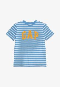 GAP - BOYS TEE - T-shirt print - blue - 2