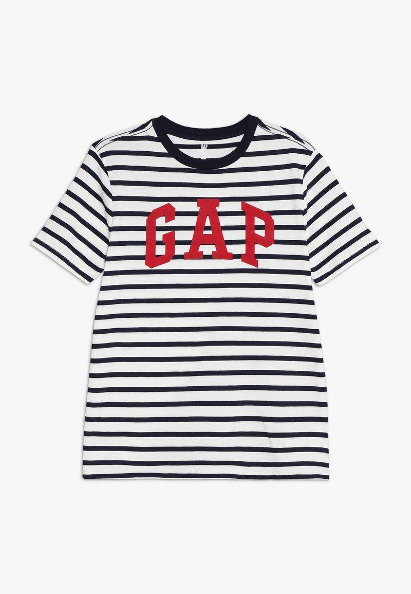 GAP - BOYS TEE - Camiseta estampada - navy