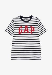 GAP - BOYS TEE - Camiseta estampada - navy - 2