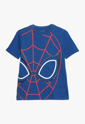 BOYS TEE - T-shirt print - blue edge