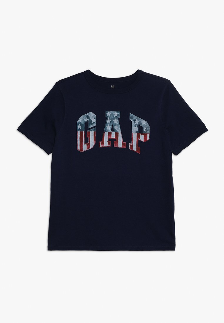 GAP - BOYS FLAG TEE - T-shirts print - elysian blue