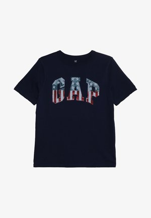 BOYS FLAG TEE - T-shirt print - elysian blue
