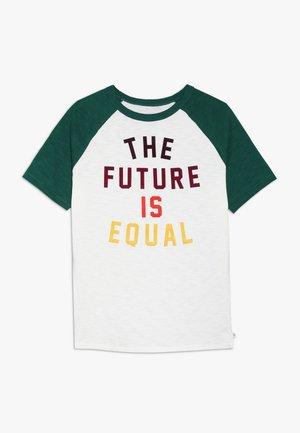 BOYS - Camiseta estampada - new off white