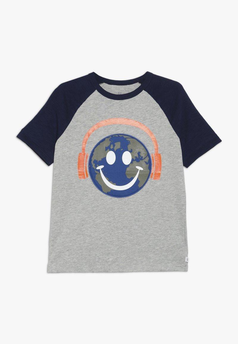 GAP - BOYS - Print T-shirt - light grey