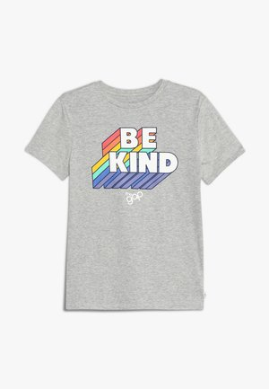 BOYS PRIDE TEE - T-shirts med print - light heather grey