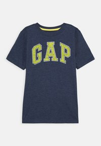 GAP - BOYS NEW ARCH SCREEN - Print T-shirt - navy heather - 0