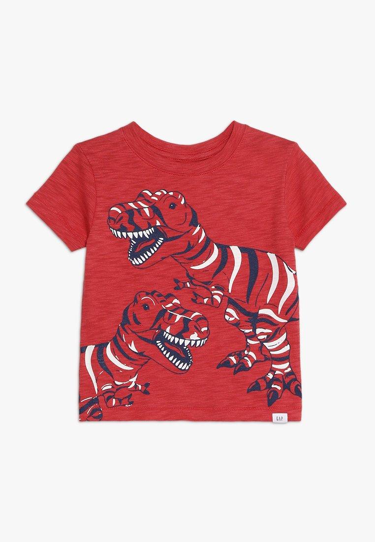 GAP - TODDLER BOY GRAPHIC TEE - T-shirts med print - modern red