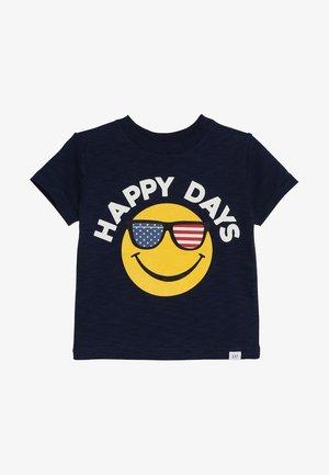 TODDLER BOY GRAPHIC TEE - T-shirt imprimé - elysian blue