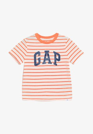TODDLER BOY LOGO - Triko s potiskem - orange