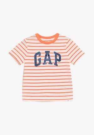 TODDLER BOY LOGO - Print T-shirt - orange