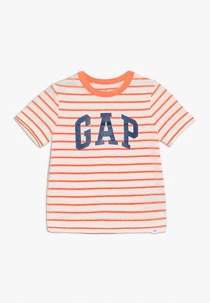 TODDLER BOY LOGO - T-Shirt print - orange